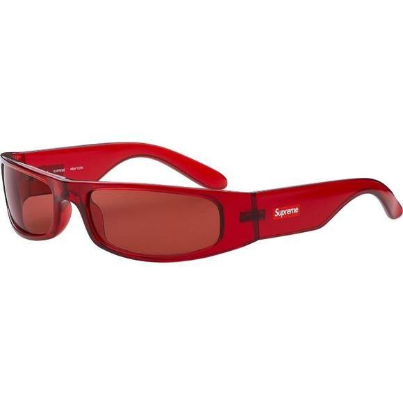 ff509b879b4a4 Supreme Astro sunglasses clear red. M 5afdde661dffda6eb4be5e08